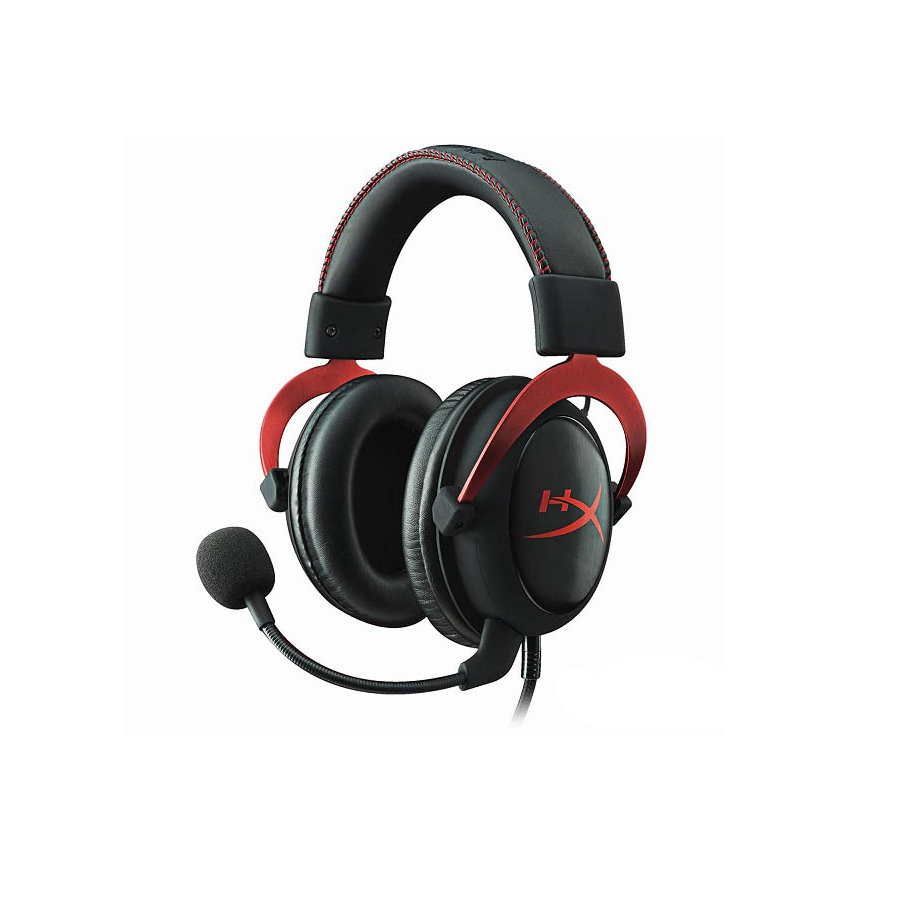 Tai nghe Kingston HyperX Cloud 2 Gaming Red (KHX-HSCP-RD) - Jack 3.5mm, Mic