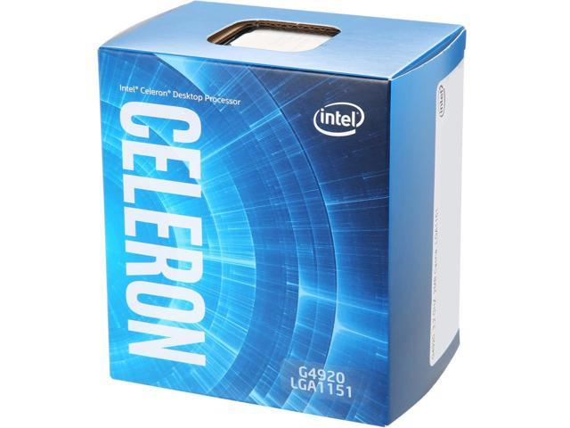 Bộ Vi xử lý Intel Celeron G4920BOX - 2x3.2GHz, 2MB, 14nm, HD610 350Mhz, 54W, LGA1151, Coffee Lake
