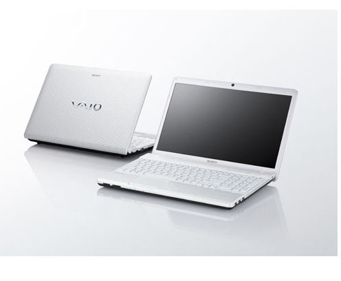Laptop Sony Vaio VPC-EH28FG/W (Intel Core i5-2430M 2.4GHz, 4GB RAM, 500GB HDD, VGA NVIDIA GeForce 410M, 15.5 inch, Windows 7 Home Premium 64 bit)
